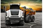 Baumaschinen-Kalender, Heavy Equipment-Kalender 2011, Liebherr TA 230 Knickdumper