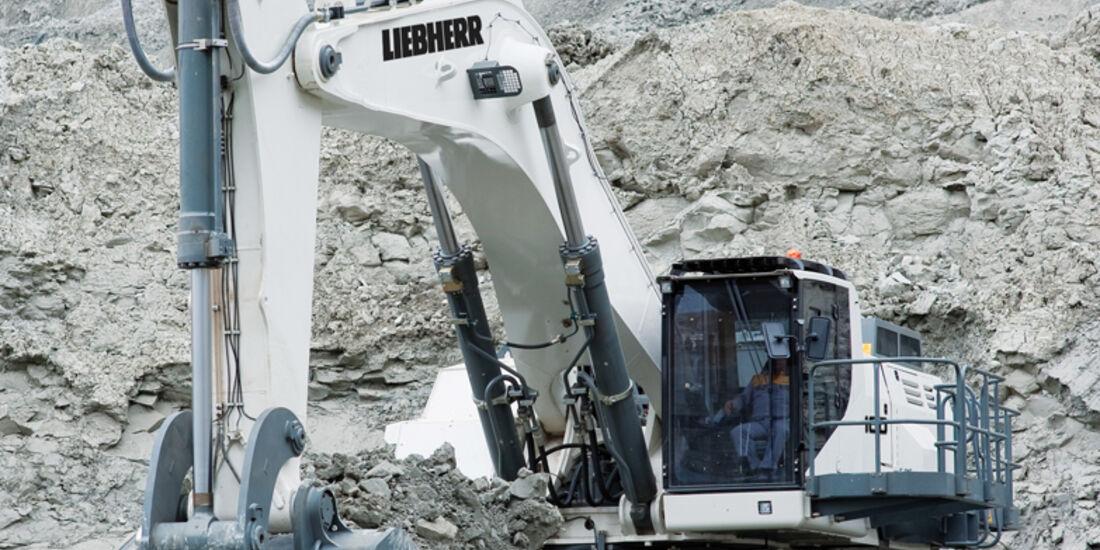 Baumaschinen, Liebherr R9100