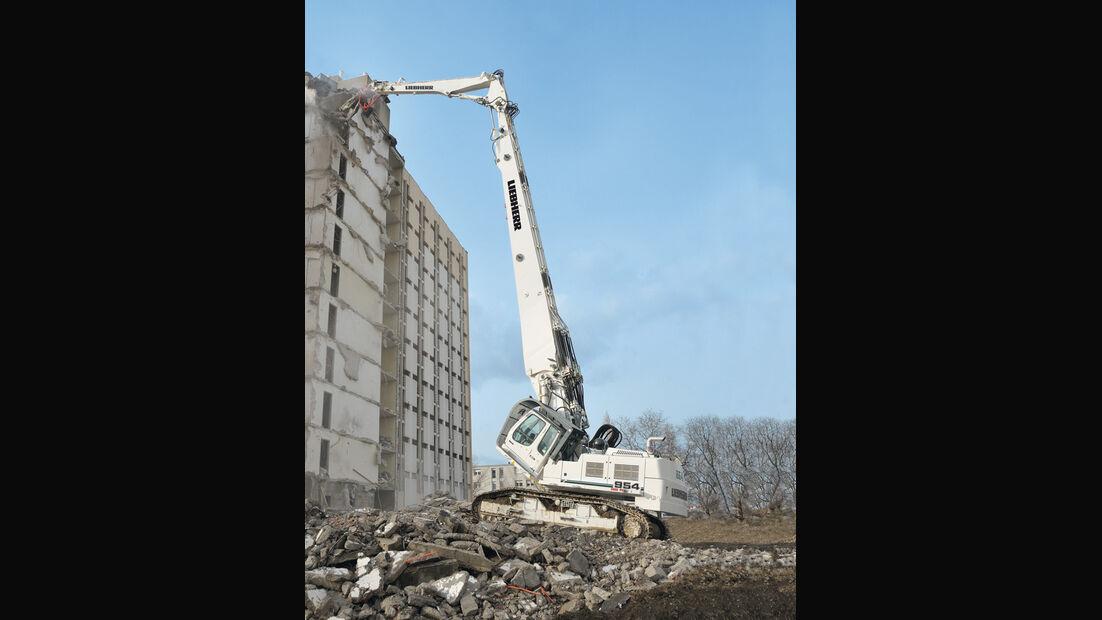 Baumaschinen, Liebherr R954 Demolition