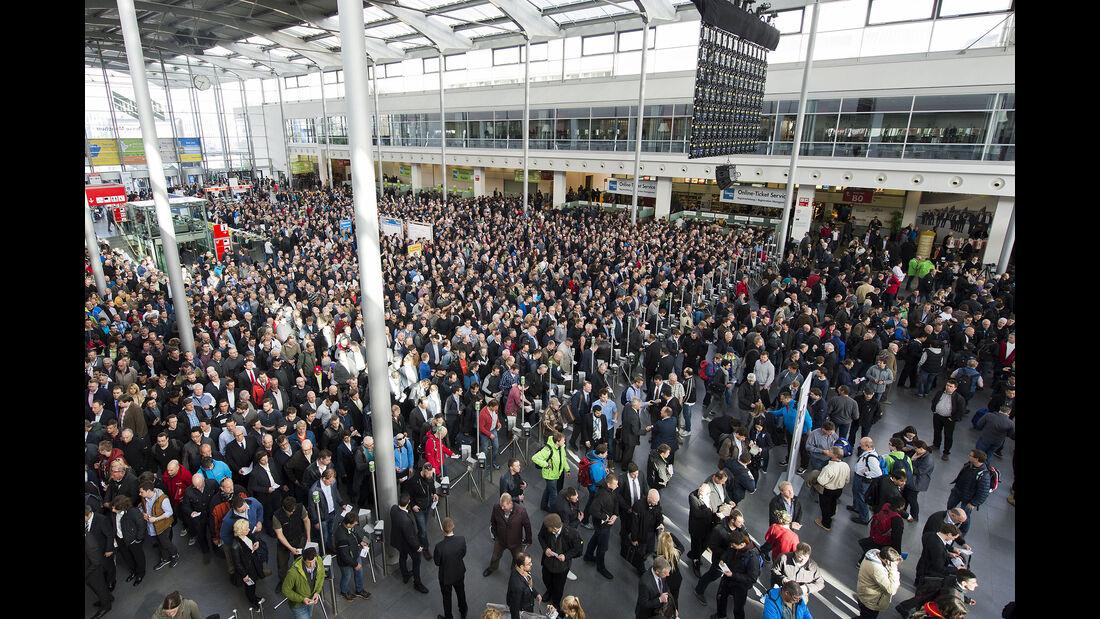 Baumaschinenmesse Bauma 2016 München