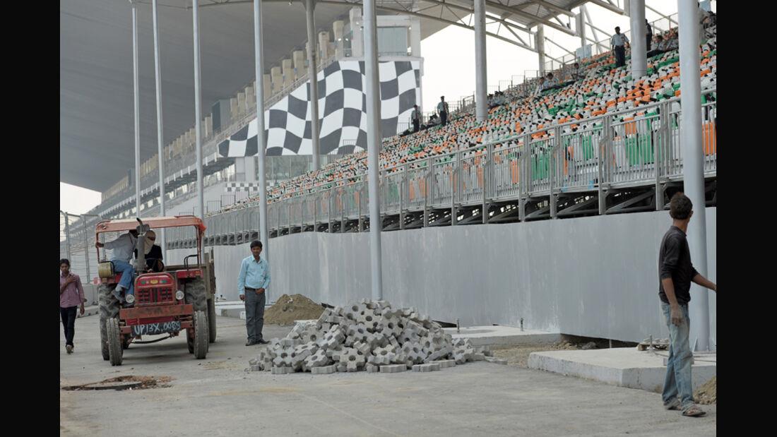 Baustelle - GP Indien - 27.10.2011