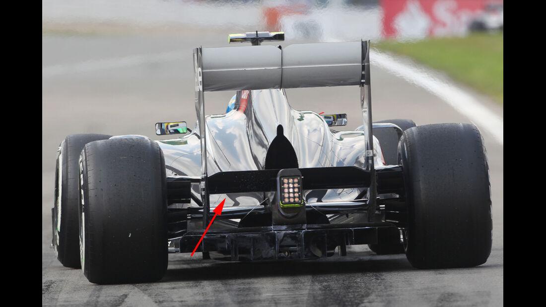 Beamwing Sauber 2013