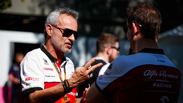 Beat Zehnder - Alfa Romeo - GP Australien 2020