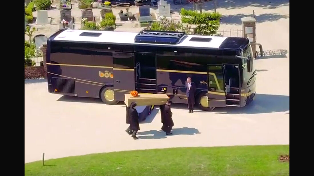 Beerdigungsbus