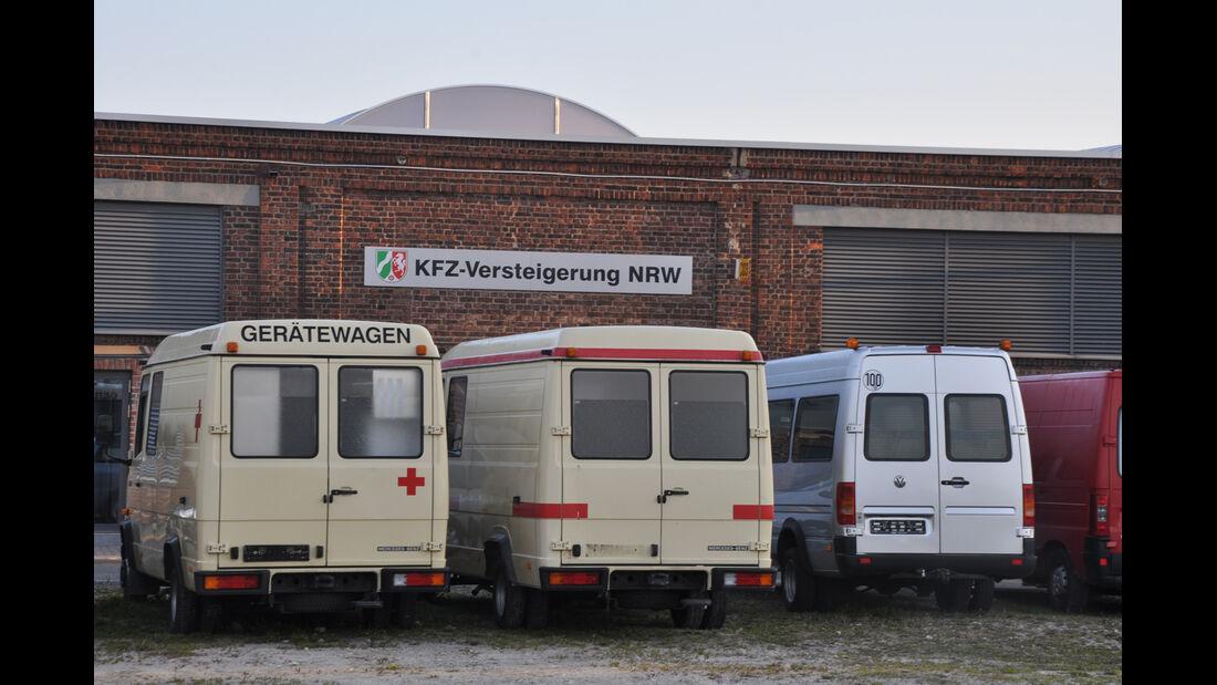 Behördenfahrzeuge, Rotes Kreuz, Gerätewagen