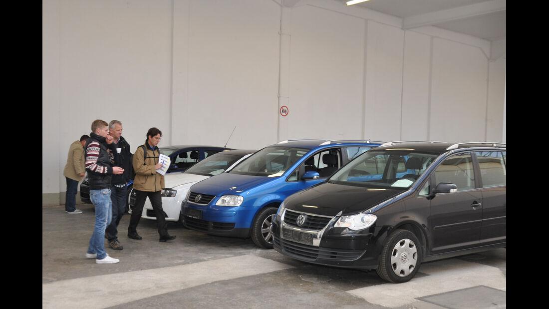 Behördenfahrzeuge, VW Passat