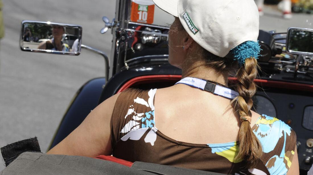 Beifahrerin - Silvretta Classic 2010