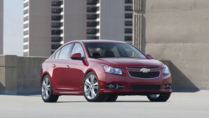 Beim Chevrolet Cruze gibt es Probleme mit den Airbags.