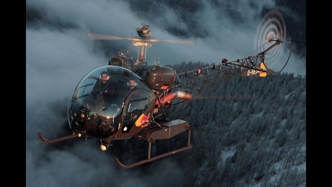 Bell 47 G-3B-1 - Red Bull Flying Bulls