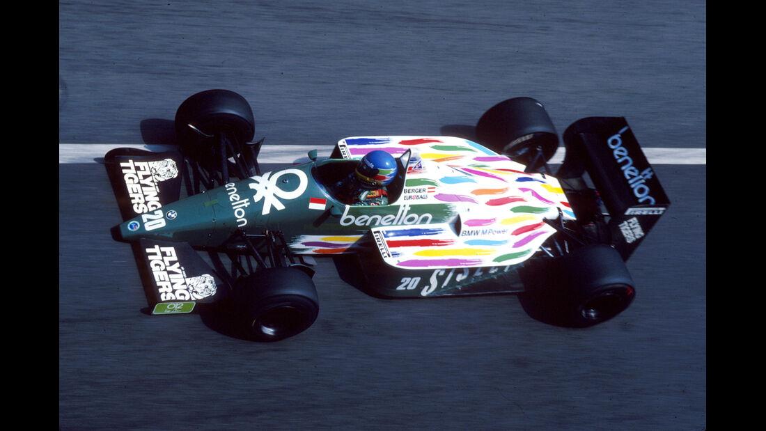 Benetton - 1986 - GP Monaco - Formel 1