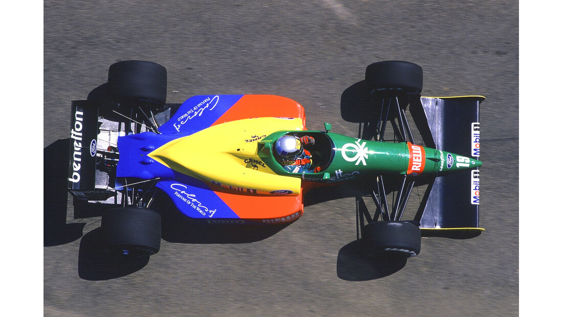 Benetton - 1988 - GP Brasilien - Formel 1