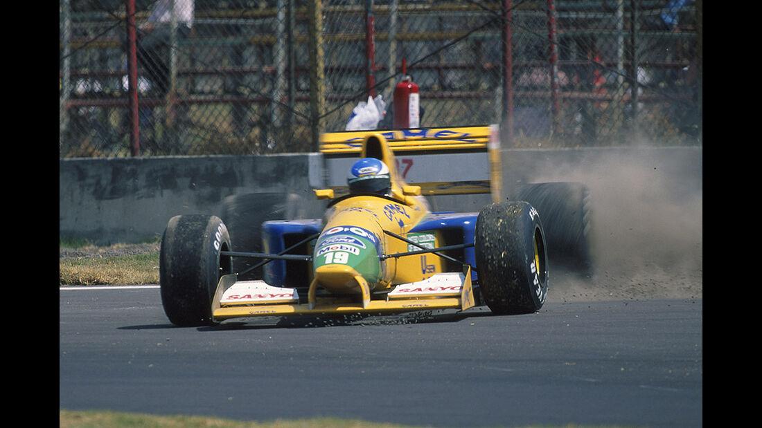 Benetton Ford Schumacher 1992