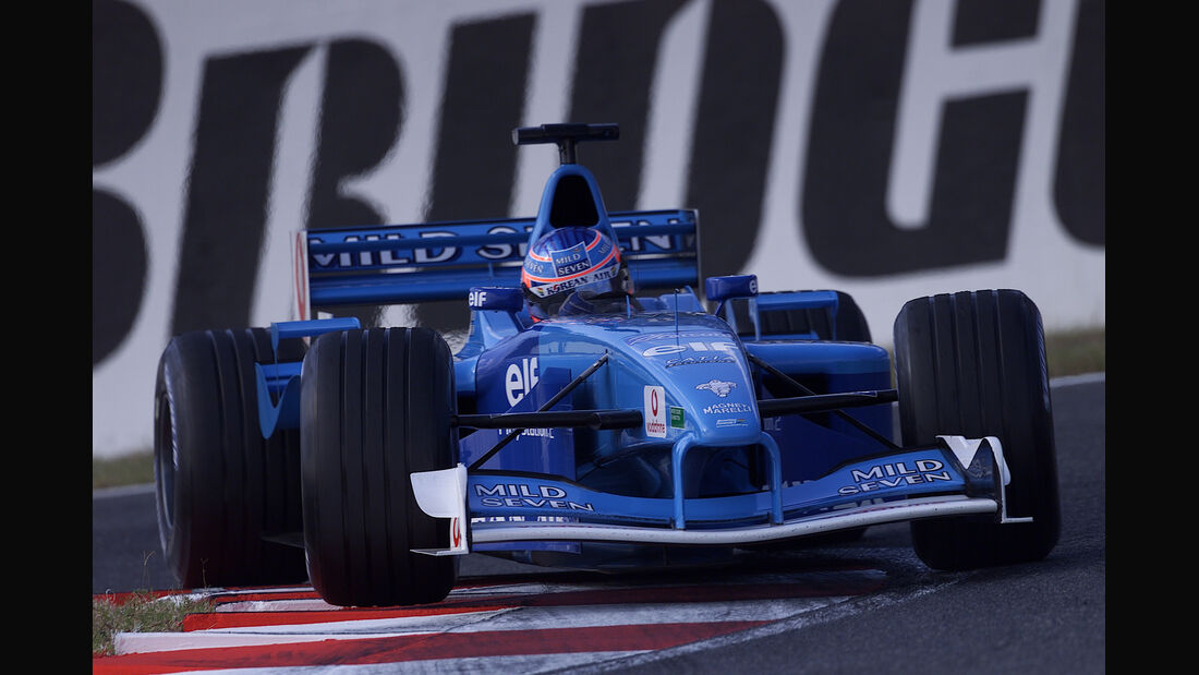Benetton-Renault - GP Japan - 2001