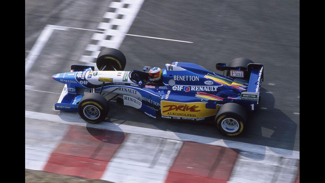 Benetton-Renault - Michael Schumacher - GP Frankreich - 1995
