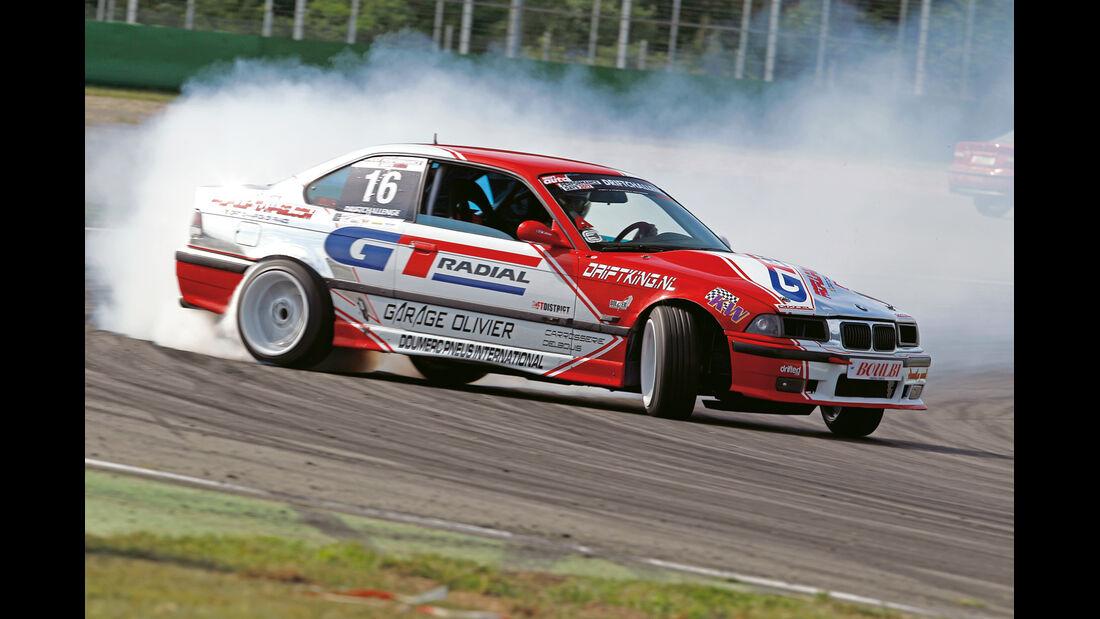 Benjamin Boulbes, BMW E36 V8 5.0