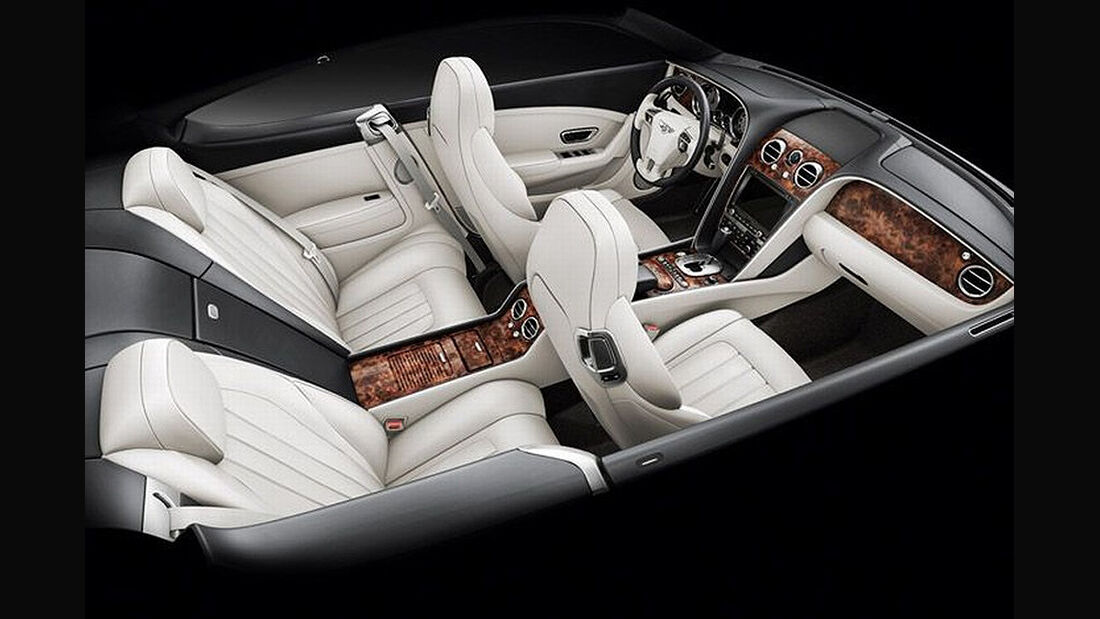 Benley Continental GT, 2011, Innenraum