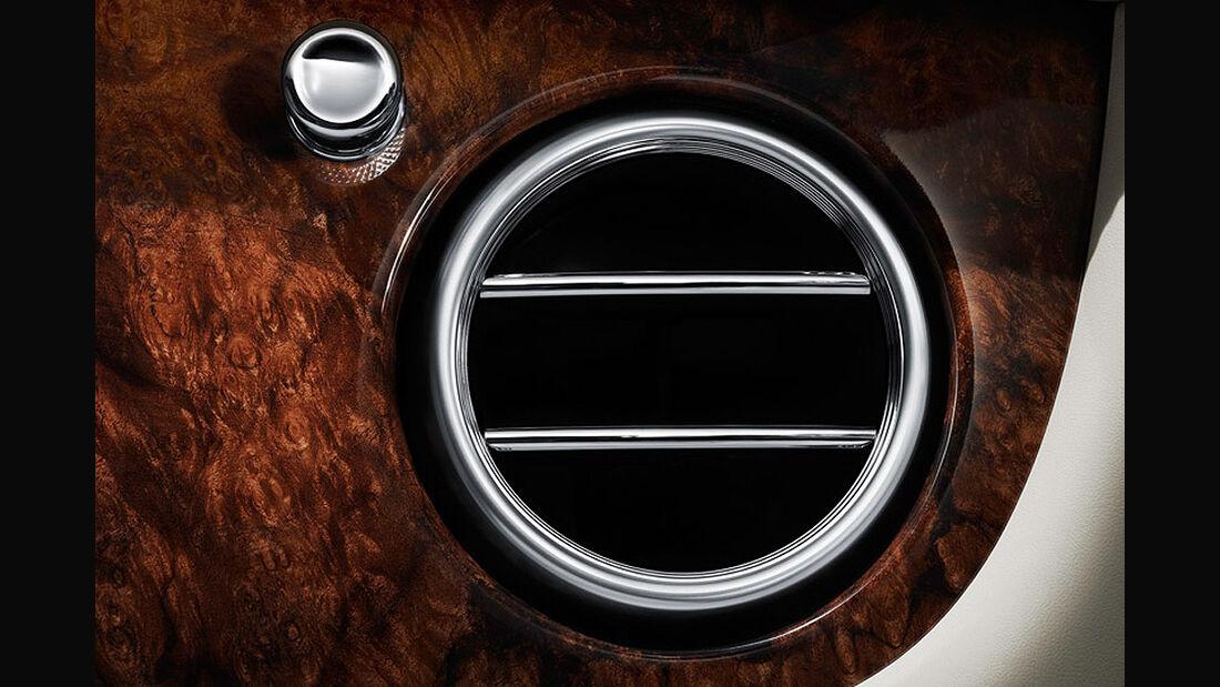 Benley Continental GT, 2011, Lüftung