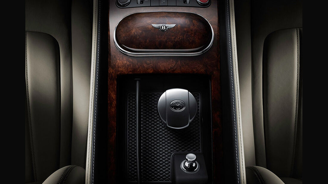 Benley Continental GT, 2011, Mittelkonsole hinten