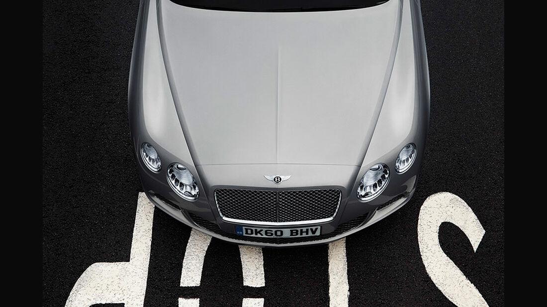 Benley Continental GT, 2011, Motorhaube