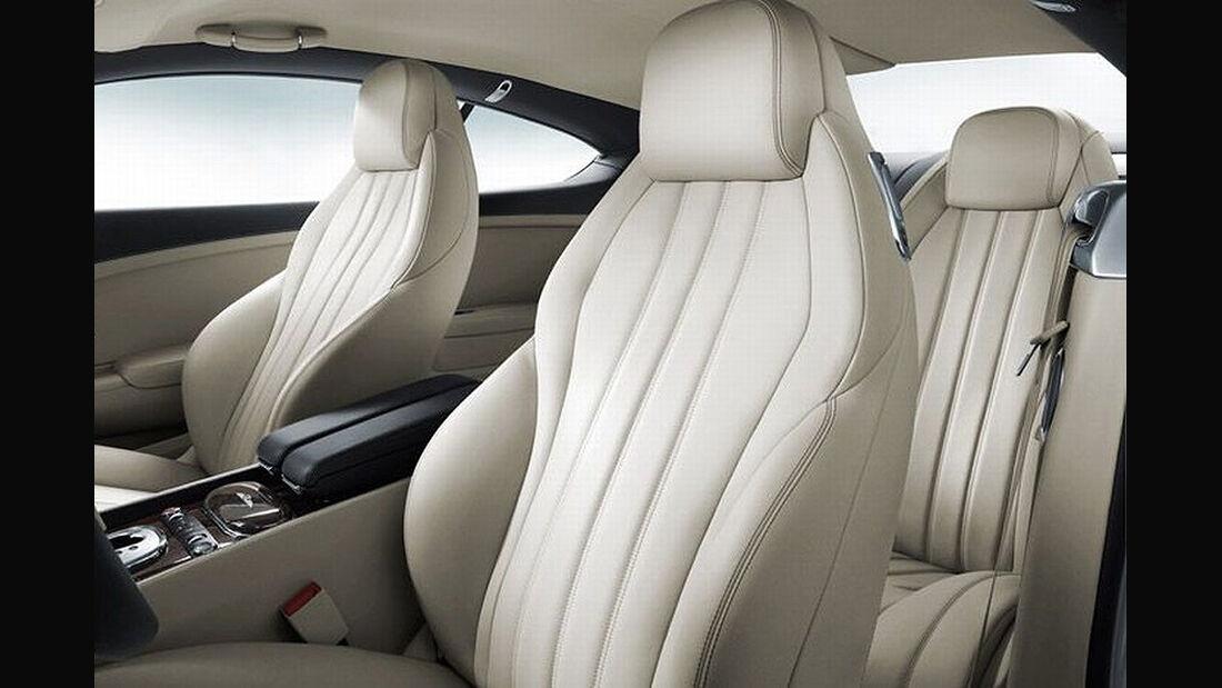 Benley Continental GT, 2011, Sitze