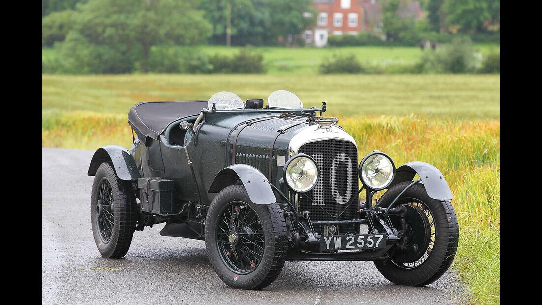 Bentley 4 1/2 Litre, Frontansicht