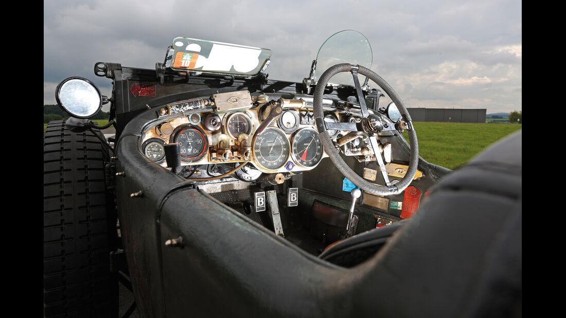 Bentley 4,5 Litre Blower, Cockpit