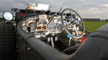 Bentley 4,5 Litre Blower, Cockpit