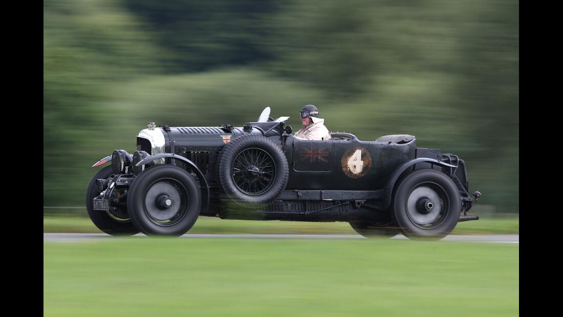 Bentley 4,5 Litre Blower, Seitenansicht