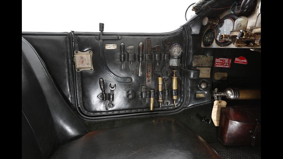 Bentley 4,5 Litre Blower, Werkzeug