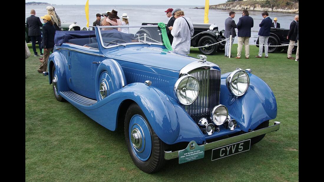 Bentley 4,5 Litre James Young Drophead Coupé 1936