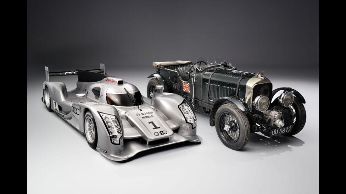 Bentley 4,5 Litre vs. Audi R18