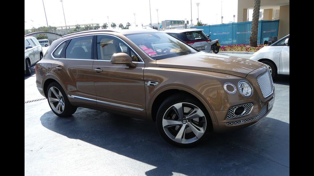 Bentley Bentayga - Carspotting - GP Abu Dhabi 2018