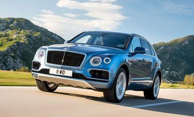 Bentley Bentayga Diesel Sperrfrist 21.9. 01.00 Uhr