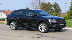 Bentley Bentayga Erlkönig