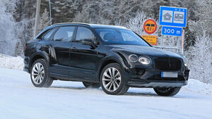 Bentley Bentayga Facelift Erlkönig