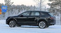 Bentley Bentayga Facelift Erlkönig