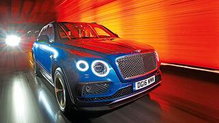 Bentley Bentayga, Frontansicht