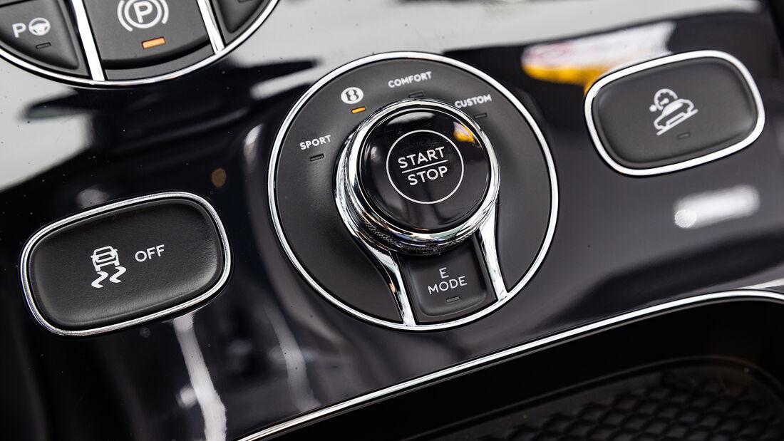 Bentley Bentayga Hybrid, Interieur