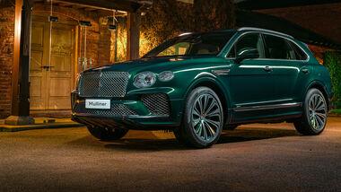 Bentley Bentayga Hybrid Mulliner Grün China