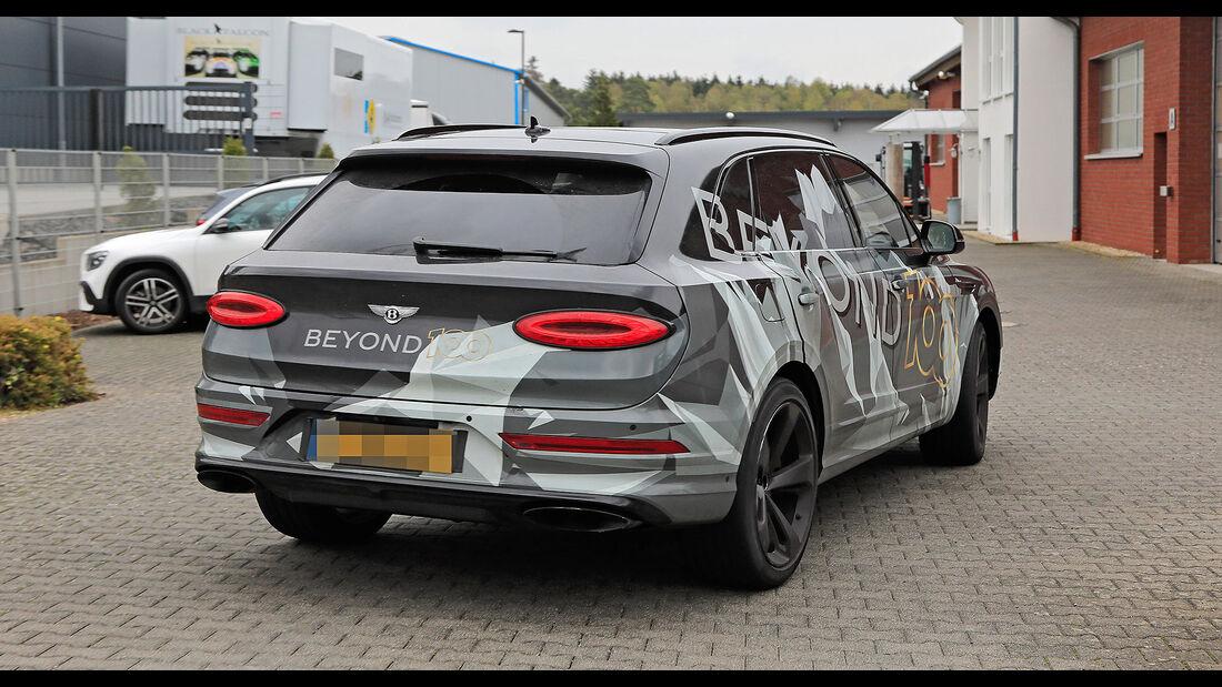 Bentley Bentayga LWB Erlkönig