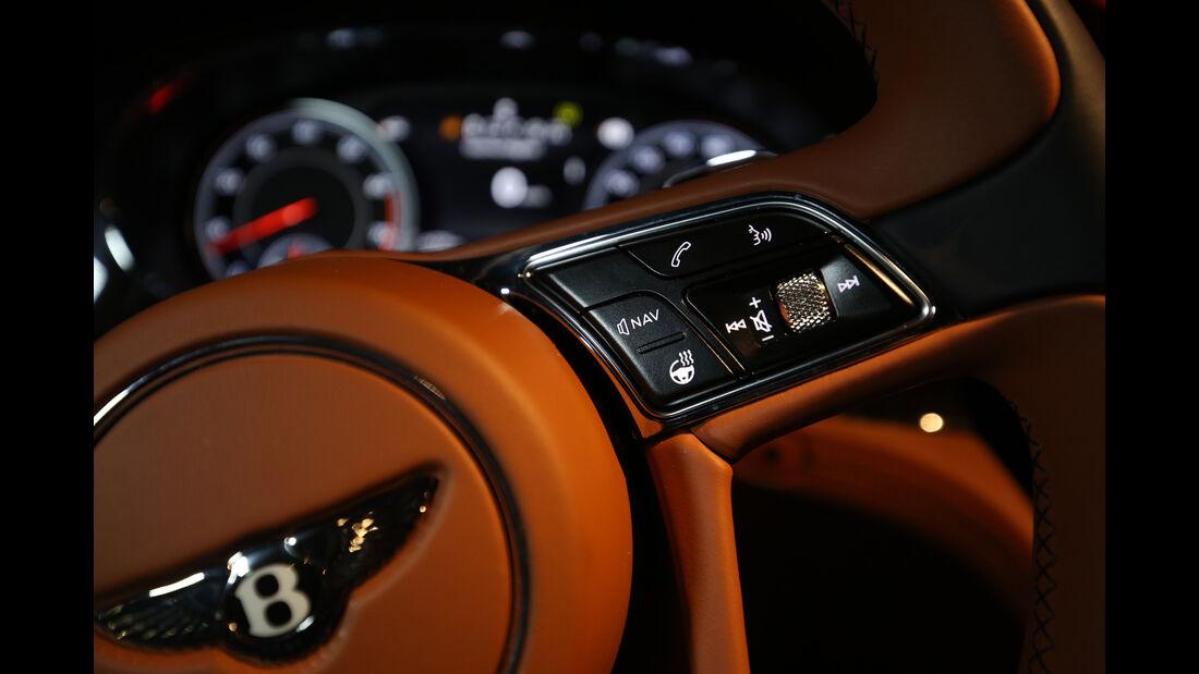 Bentley Bentayga, Lenkradschalter