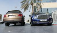 Bentley Bentayga & Mulsanne - Carspotting - GP Abu Dhabi 2018
