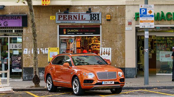 Bentley Bentayga Schinken