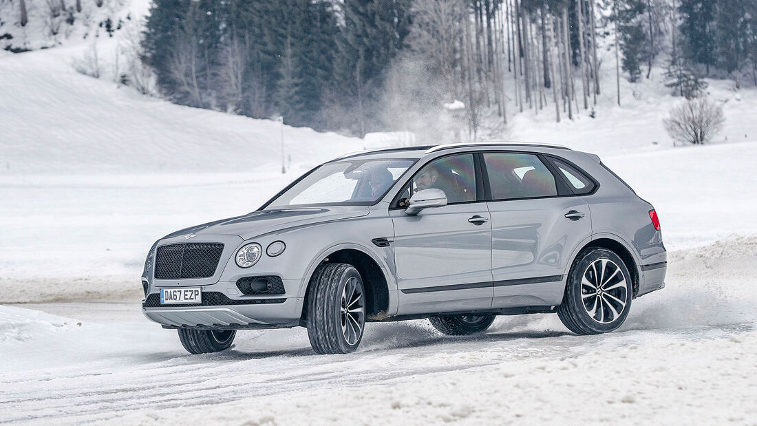 Bentley Bentayga V8 Fahrbericht