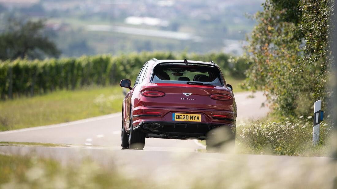 Bentley Bentley Bentayga V8, Exterieur