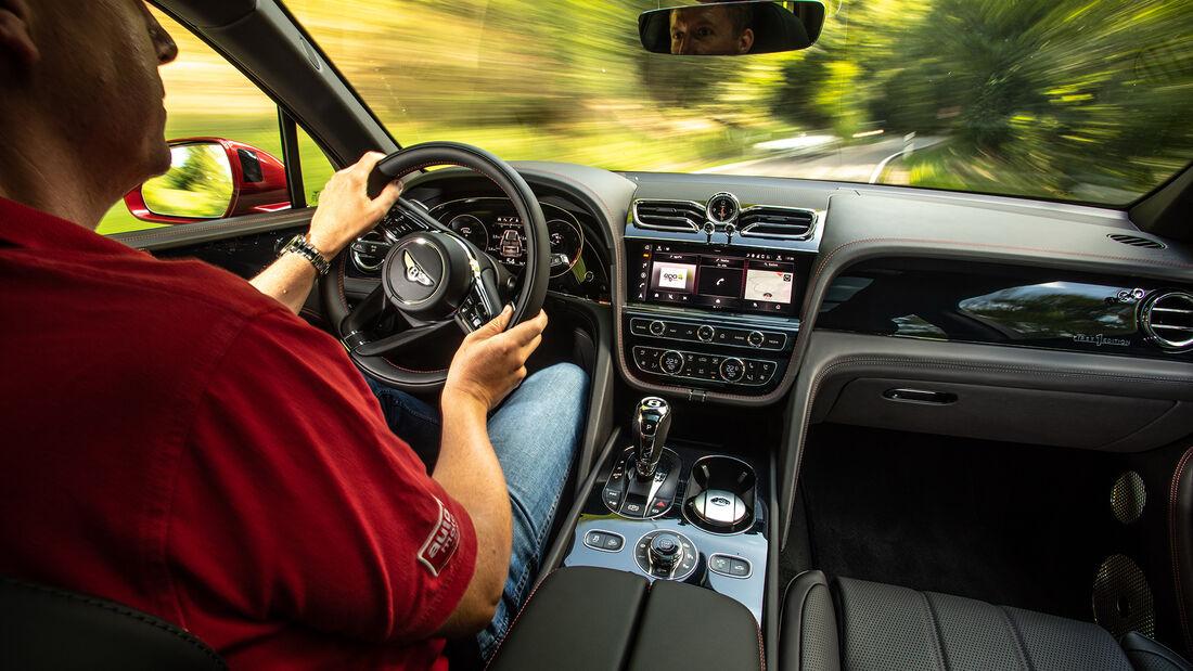 Bentley Bentley Bentayga V8, Interieur