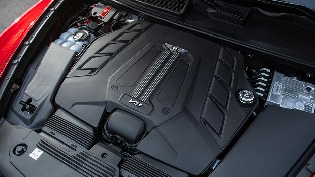 Bentley Bentley Bentayga V8, Motor