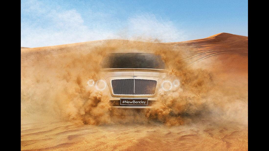 Bentley Betayga, SUV