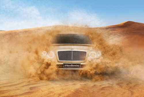 Bentley Betayga, SUV