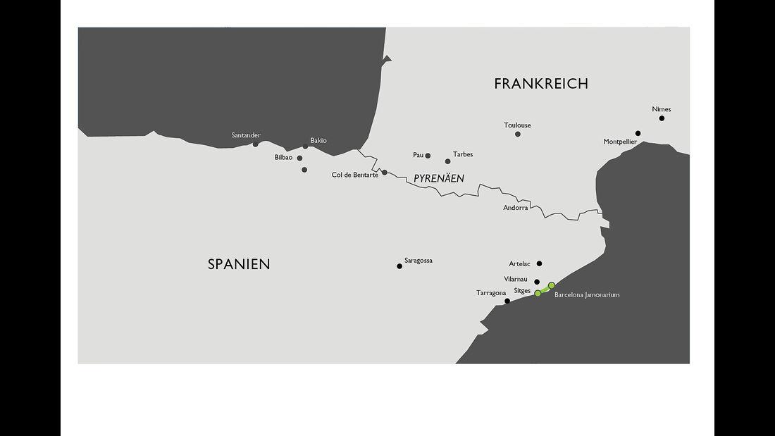 Bentley Coast to Coast Tour , Sonnenaufgang---Jamonarium,-Schinken